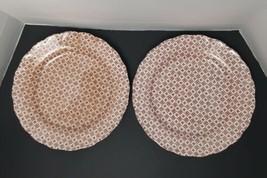 Set of 2 Vintage Japan Plates / Double Phoenix NKT Nikko Japan/ RARE - $34.60