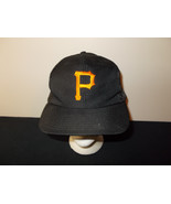 VTG-1980s Pittsburgh Pirates MLB Official Stadium mesh trucker snapback ... - $27.83