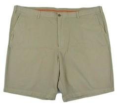Tommy Bahama Del Chino Flat Front Khaki Shorts 100% Cotton Big & Tall NE... - $51.96