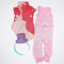 Ringmaster Outfit for WellieWishers Dolls (Clothes: Jumpsuit, Jacket, He... - $9.05
