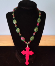 Cross Pendant Necklace  - $35.00
