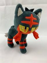 """2018 Wicked Cool Toys Nintendo Pokemon Go Litten Doll 7"""" Plush Stuffed A... - $19.75"""