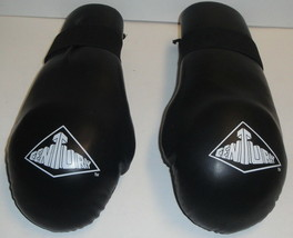 CENTURY GLOVES - Size ML 9806 - Boxing MMA Black Lightweight Sparring Ad... - $6.79