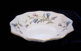 Royal Albert Brigadoon Bone China Oval Candy Trinket Dish - Pink & Blue - $17.50