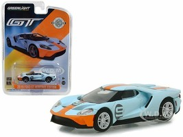 Greenlight 1:64 Model Car - Hobby Exclusive 2017 Ford GT #6 Gulf Racing - $16.73