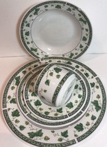 """Sango """"IVY CHARM"""" 5 Piece Place Setting Service For 1 Oven Safe (8854) - $29.69"""