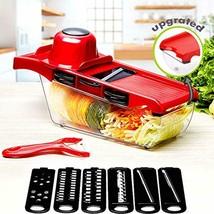 Mandoline Slicer Vegetable Food Slicer Kitchen Chopper Cutter Friu With ... - $14.09