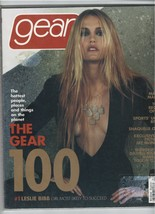 gear magazine December January 2001,  Leslie Bibb  - $20.20
