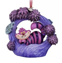 Disney Store 2020 Cheshire Cat Light Up Sketchbook Ornament Alice in Won... - $49.95