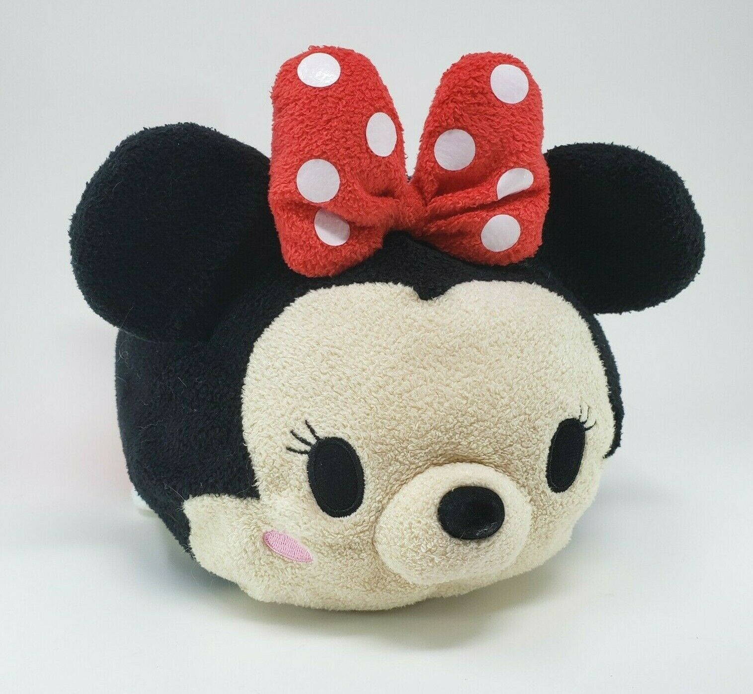 "Primary image for 12"" DISNEY STORE MINNIE MOUSE TSUM TSUM MEDIUM STUFFED ANIMAL PLUSH TOY POLKA"