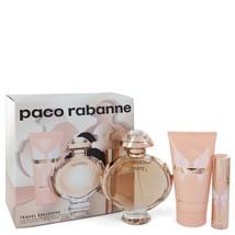 Paco Rabanne Olympea 2.7 Oz Eau De Parfum Spray 3 Pcs Gift Set  image 6