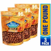 Blue Diamond Almonds, Bold Habanero BBQ, 16 Ounce (Pack of 3) - $27.99