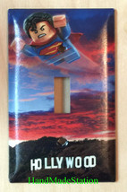 Lego Superman Hollywood Light Switch Power Outlet Wall Cover Plate home decor