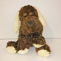 Dan Dee Collector's Choice Brown &Tan Puppy Dog Stuffed Plush Animal Floppy Ears - $15.83