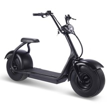MotoTec Fat Tire 2000 Watt Electric Scooter 60v 18ah Lithium Ion Lithium Battery image 1