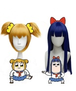 Pop team epic popuko pipimi cosplay wig for sale thumbtall