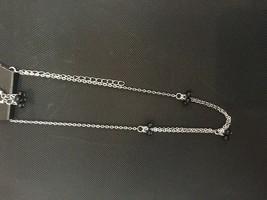 Paparazzi Necklace Set Short (new) Modest Intentions Black #863 - $7.61
