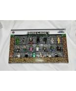 Nuovo Minecraft Nano Metallo Fichi Die Cast Personaggi 20 Pz Creeper Steve - $16.82
