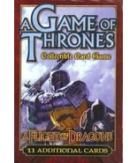 A Game of Thrones CCG A Flight of Dragons ONE BOOSTER - $8.00