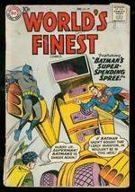 WORLDS FINEST COMICS #99 1959-BATMAN-SUPERMAN-ROBOT VG- - $56.75