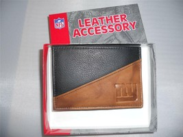 NY Giants Money Clip Leather Wallet, - $15.57