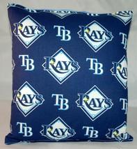 Rays Pillow Tampa Bay Rays Pillow MLB Handmade in USA Pillow Baseball - $9.99