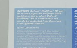 DuPont(R) Flexwrap NF 9 Inches by 75 Feet Self Adhered Flashing image 5