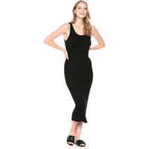 AG Adriano Goldschmied Women's Viden Dress, True Black, Large - $54.45