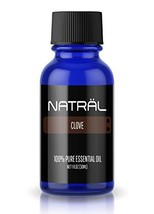 NATRÄL Clove, 100% Pure and Natural Essential Oil, Large 1 Ounce Bottle