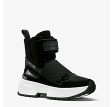 Michael Kors Cosmos High Top Sneakers Size 8 Black - $137.75