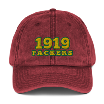 Packers hat / 1919 hat / packers Vintage Cotton Twill Cap image 4