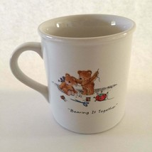 Vintage Hallmark Mug Mates Coffee Cup Mug Beary Best Friends Bearing It ... - $24.70