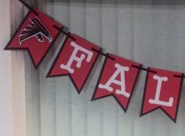 Nfl Atlanta Falcons Banner - Falcons Banner - Falcons Birthday - Falcons... - $22.00