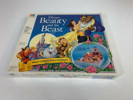 Disney Beauty and the Beast 3-D Board Game MB Milton Bradley New Factory... - $59.40