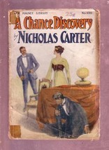 NEW MAGNET LIBRARY-#1011-DIME NOVEL-NICHOLAS CARTER FR - $31.53