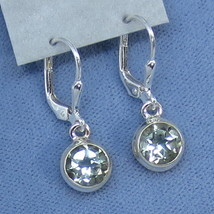 Prasiolite Green Amethyst 7mm Round Leverback Earrings - Sterling Silver... - $99.99