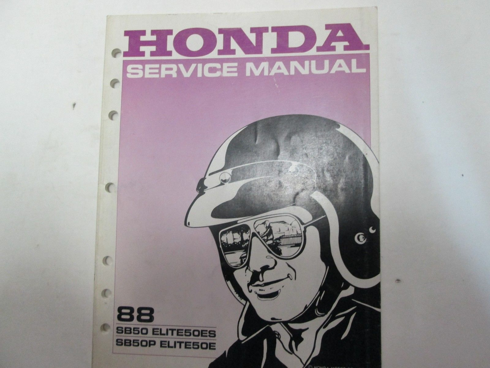 1988 Honda SB50 ELITE50ES SB50P ELITE50E and 50 similar items