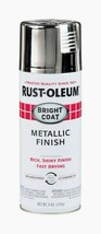 Rust-Oleum Chrome Stops Rust Bright Coat Metallic Finish 11 Oz. Spray 7718-830 - $14.99
