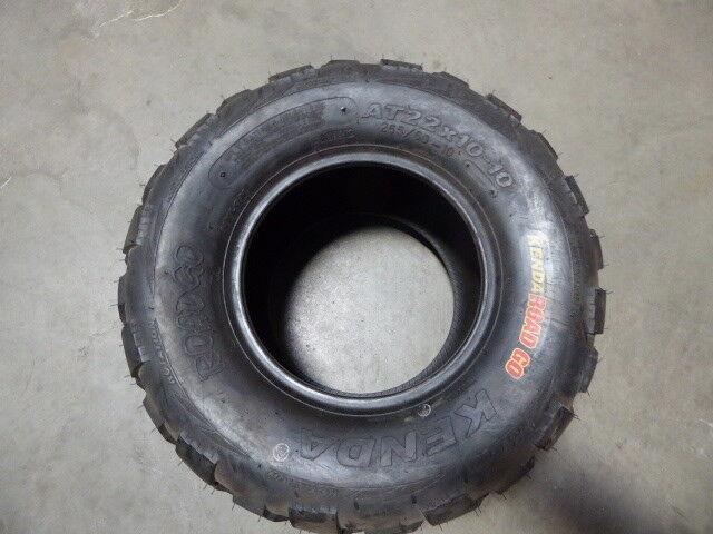 Kenda AT22x10-10 Road Go ATV Tire New