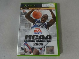NCAA March Madness 2005 Original Microsoft Xbox Game Complete Free Ship - $11.87