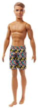 New OPEN/DISTRESS BOX! Mattel FJF09 Barbie Ken Beach Doll - $13.32