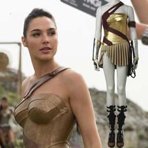 Wonder Woman Costume Justice League Diana Princess Cosplay Costume Dress... - $145.99