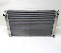 """Pwr Radiator Aluminum Gm Muscle Car With Auto Trans 33 X 19 3/4"""" Race Usa New - $199.99"""