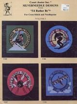 I'd Rather Be Cross Stitching Sports Vol.1 Silverneedle Designs 8 Baseba... - $3.57