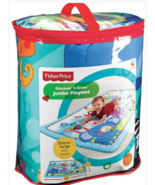 Fisher Price Discover 'n Grow Jumbo Playmat Baby Toys 0 - 18 Months Extr... - $49.00