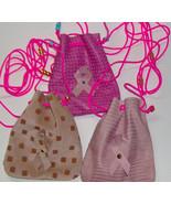 Custom Made! Pink Fashion Leather Medicine Bags  Baby Soft, Crow Beads - $23.95