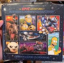 """Universal Studios Parks """"The Epic Adventures"""" Autograph Book w/ Pen New ... - $14.69"""