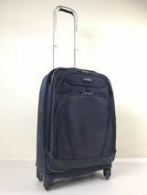 "Samsonite Xspace Rolling Suitcase Expandable Spinner Wheels 22"" Blue Lug... - $60.00"