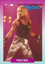 Vince Neil trading Card (Motley Crue) 1991 Brockum Rockcards #2 - $4.00