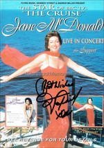 Jane McDonald Autograph *The Cruise* Hand Signed 8x6 Tour Flyer - $45.00
